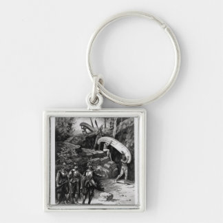 Champlain Exploring the Canadian Wilderness Key Ring