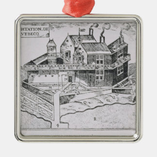 Champlain's View of Quebec Christmas Ornament