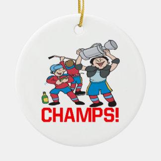 Champs Christmas Ornament