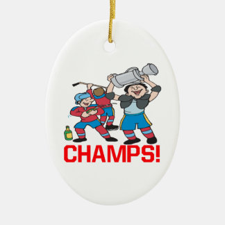 Champs Christmas Ornaments