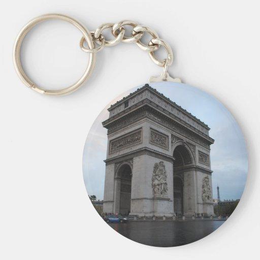 Champs-Élysées - Paris, France Key Chain