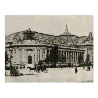 champs elyses Grand Palace Paris 1910 Replica Postcard