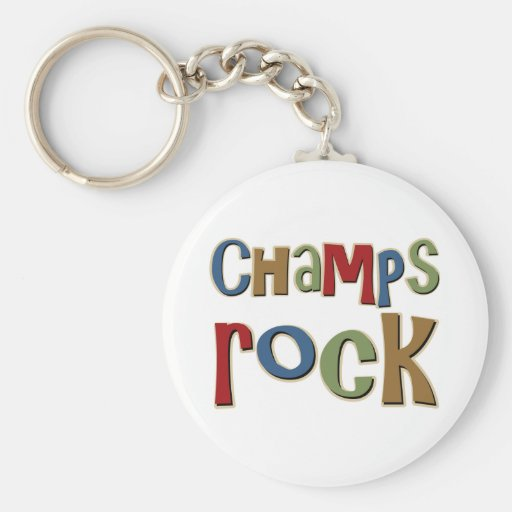 Champs Rock Key Chain