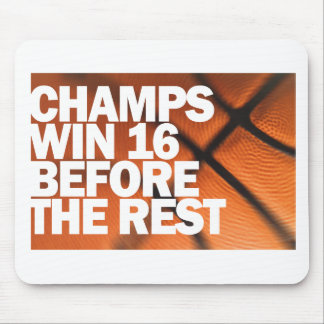 CHAMPS WIN 16 BEFORE THE REST MOUSE PAD