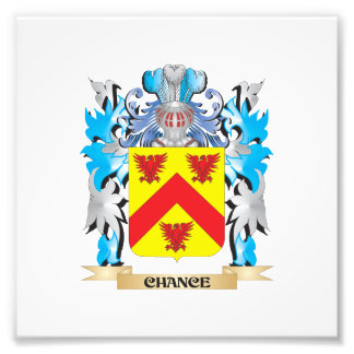 Chance Coat of Arms - Family Crest Photo Print