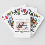 Chance Favours The Intuitively Connected (Neuron) Poker Cards