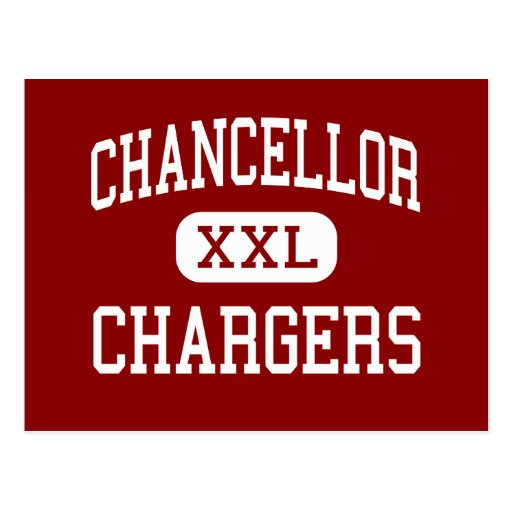 Chancellor - Chargers - High - Fredericksburg Postcards
