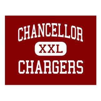 Chancellor - Chargers - High - Spotsylvania Postcard