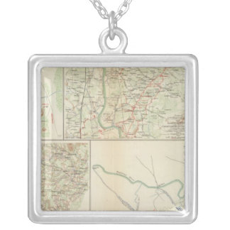 Chancellorsville Buckingham, Appomattox counties Silver Plated Necklace