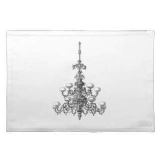 """Chandelier2 Placemats 20"""" x 14"""""""