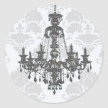 Chandelier_A_Gray Envelope Seal Stickers
