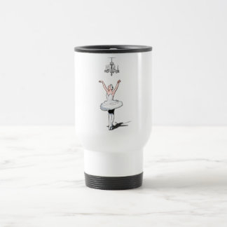 Chandelier & Ballerina Travel Mug