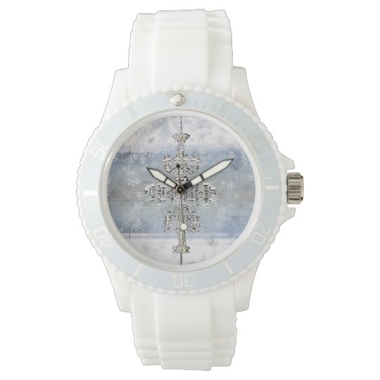 Chandelier Collection - Iced Sake Tic Toc Watch
