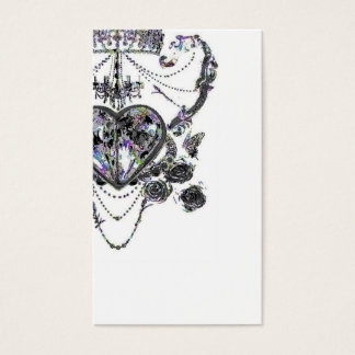Chandelier crown card