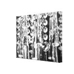 Chandelier crystals to decorate the wall! gallery wrap canvas
