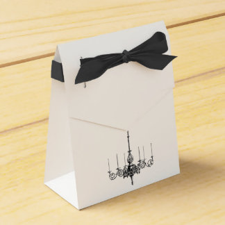 Chandelier Custom Wedding  Favour gift bags Party Favour Boxes