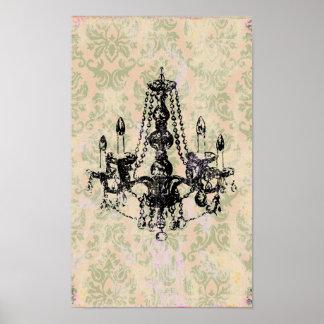 Chandelier Elegance ~ Print / Poster