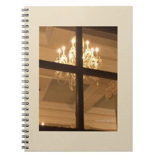 Chandelier Inspired Notebook