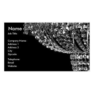 Chandelier Lighting Business Card