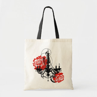 Chandelier Romance Tote Bag