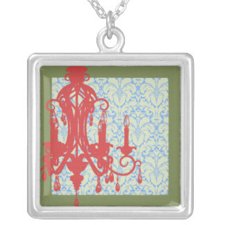 Chandelier Square Necklace