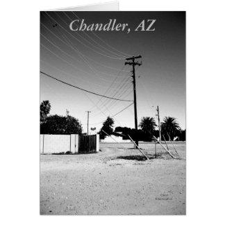 Chandler AZ Powerlines Card