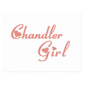 Chandler Girl tee shirts Postcards