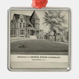 Chandler residence, Manchester, NH Christmas Ornament