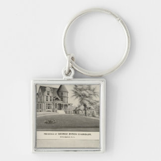 Chandler residence, Manchester, NH Key Ring