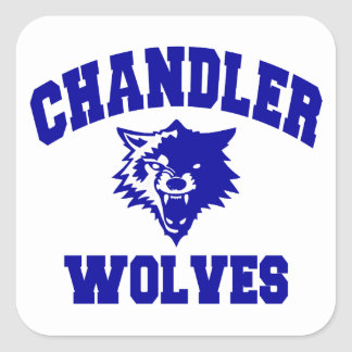 Chandler Wolves Square Sticker