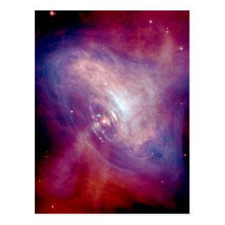 Chandra Crab Nebula Postcard