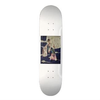 Chang 'E (Papyrus Version) Skateboard Deck