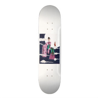Chang 'E Custom Skateboard