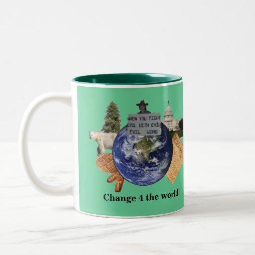 Change 4 the World Logo Mug