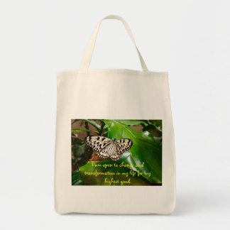 Change and Transformation Tote Bag