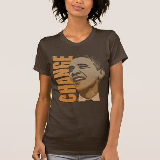Change Barack Obama womens t shirt