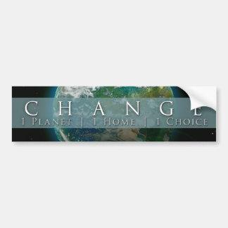 Change | Bumper Sticker