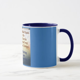Change can take place in your life mug