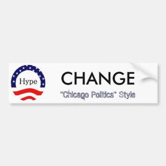Change, Chicago Style Car Bumper Sticker