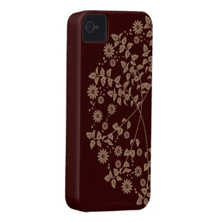 Change chrysanthemum arabesque iPhone4 case Case-Mate iPhone 4 Cases