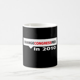 Change Congress Red in 2010 Mugs