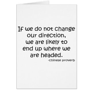 Change Direction quote Cards