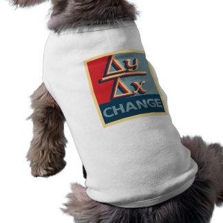 Change Dog's T-Shirts Sleeveless Dog Shirt