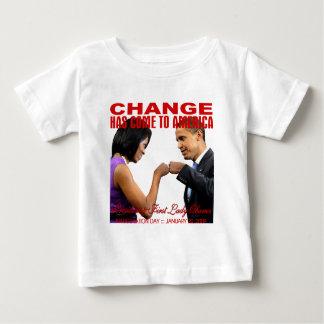 Change fist bump baby T-Shirt