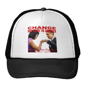 Change fist bump mesh hat