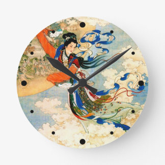 Chang'e Flying to the Moon Wall Clocks