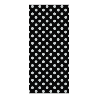 Change Grey Polka Dots Any Color Click Customize 10 Cm X 23 Cm Rack Card