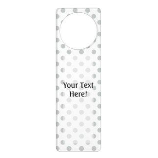 Change Grey Polka Dots Any Color Click Customize Door Hanger