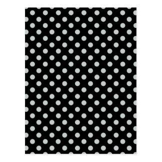 Change Grey Polka Dots Any Color Click Customize Postcard