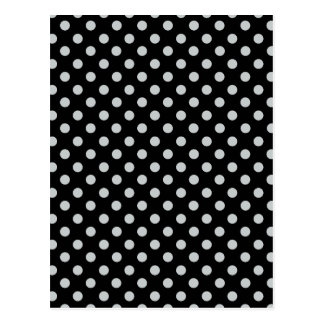 Change Grey Polka Dots Any Color Click Customize Postcard